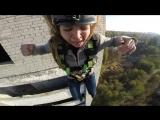 Камера на шлеме прыжок 16ти этажка Видео № 16