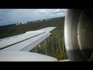 Ту-154. Моя легенда. Бонус 03. Аэропорт Чкаловский, 2013. ТУ-154Б-2, ВВС России. Учебная посадка.