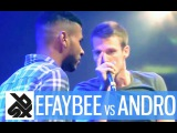EFAYBEE vs ANDRO | French Beatbox Championship 2015 | 1/8 FINAL