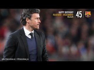 С Днем Рождения, Луис Энрике! 45 лет