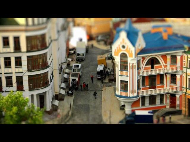 Kiev Kyiv tilt shift Киев тильт шифт видео Ukraine 2012 - Mark Pestickov MiniLook
