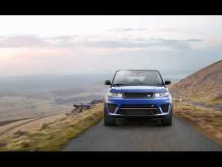 Новинка! 2015 Land Rover Range Rover Sport SVR