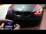 BMW color changing angel eyes (ангельские глазки)