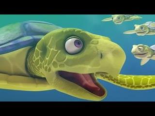 Поезд динозавров: Подводная лодка динозавров. Рассказ о морской черепахе. Скоростной поезд.