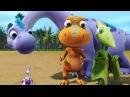 Поезд динозавров: Подводная лодка динозавров. Шошана Шонизавр. Какие бывают семьи.
