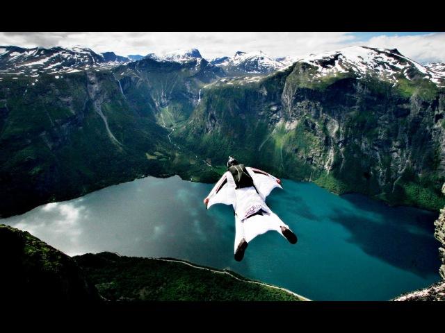 Бейсджампинг это сила! Base jumping is power! Part 1.