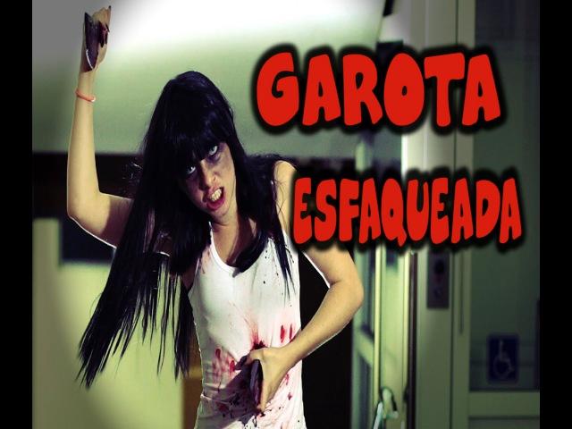 PEGADINHA: Garota Esfaqueada (stabbed girl Prank)