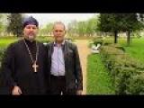 Санкт-Петербург (Петергоф) 21 мая 2015 года. Архиепископ Сергей и пастор Сергей (ори ...