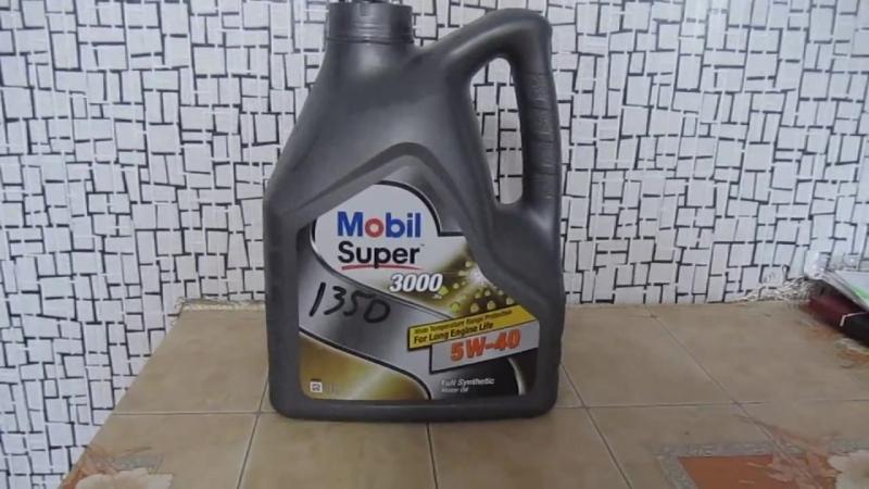 Моторное масло mobil super 3000 5w-40 честный отзыв!