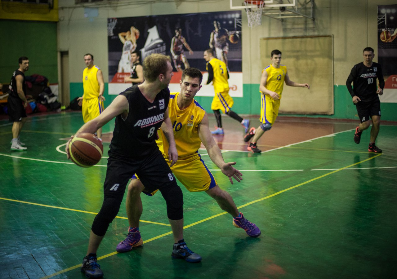 Плэй-офф лиги КАУБ 5х5 баскетбол в Краснодаре