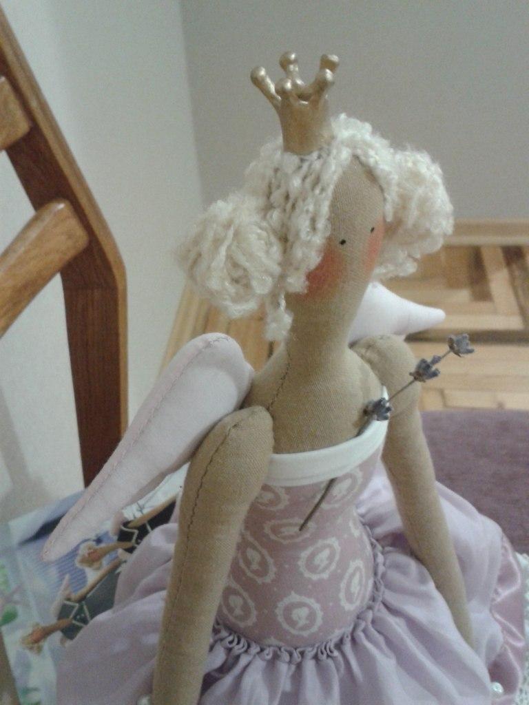 тильда лавандовая принцесса
