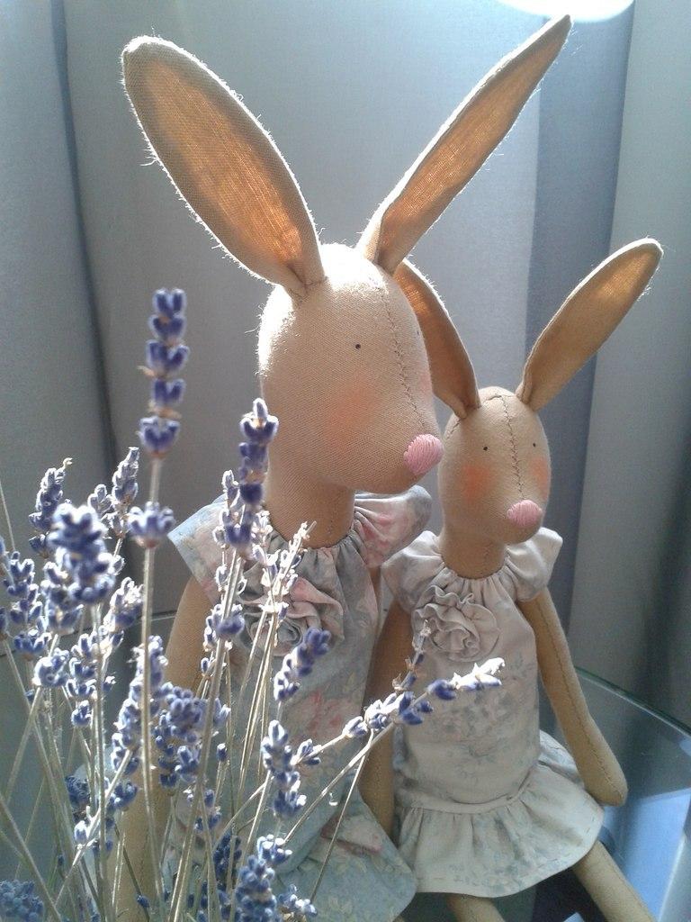 тильда кролики
