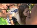 Молоденькую студентку 3 мужика выебали на природе во все дырки киску анал рот кончил в сперма групповуха rape оксана окладникова