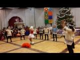 Новогодний утреник в Цвітне, танец мамочек!!!