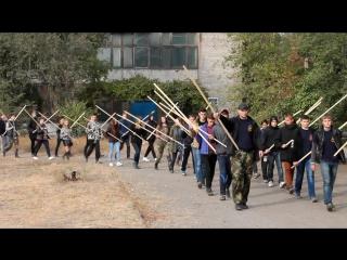 Репетиция факельного шествия 11.10.2015