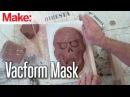 Создание маски из пластилина и термопластика, вакуумная формовка