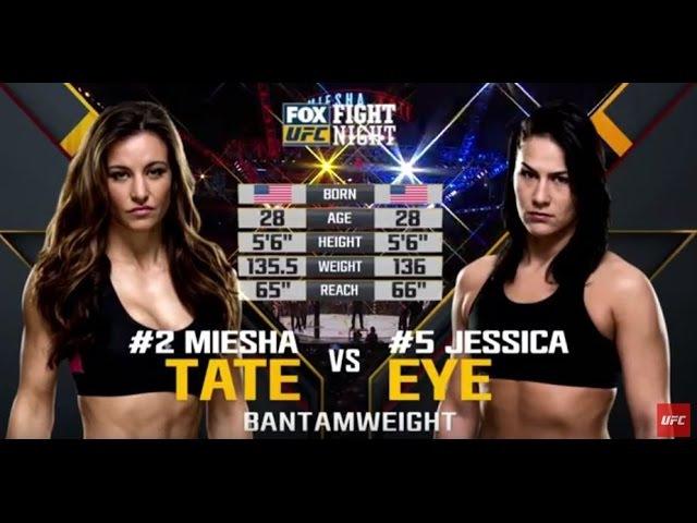 UFC 196 Free Fight: Miesha Tate vs Jessica Eye