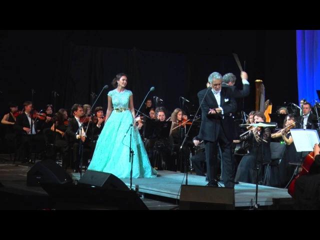 Placido Domingo, Aida Garifullina - Tutte Le Feste Al Tempio - Rigoletto Gilda duet (G.Verdi)