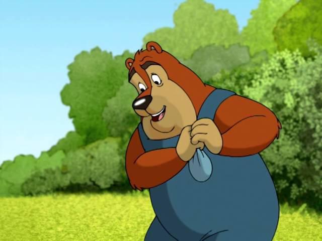 Удивительные приключения Хомы - Как Хома с медвежонком играл