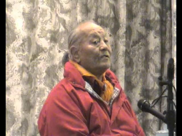 Chogyal Namkhai Norbu Open Talk in Kunsangar, 2001