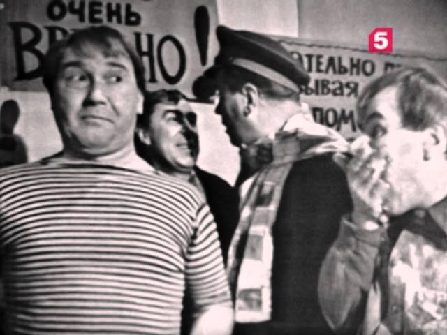 Главы из романа 12 стульев, 1 серия. ЛенТВ, 1966 г.