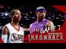 Allen Iverson vs Vince Carter Duel Highlights 2001 Playoffs ECSF G7 76ers vs Raptors - WIN or LOSE!