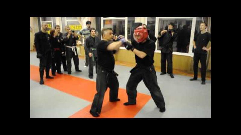 Bujinkan Gendai Goshinjutsu - Modern Self-Defence Seminar Shidoshi Momot. Kiev Ukraine, 6-8/09/2013