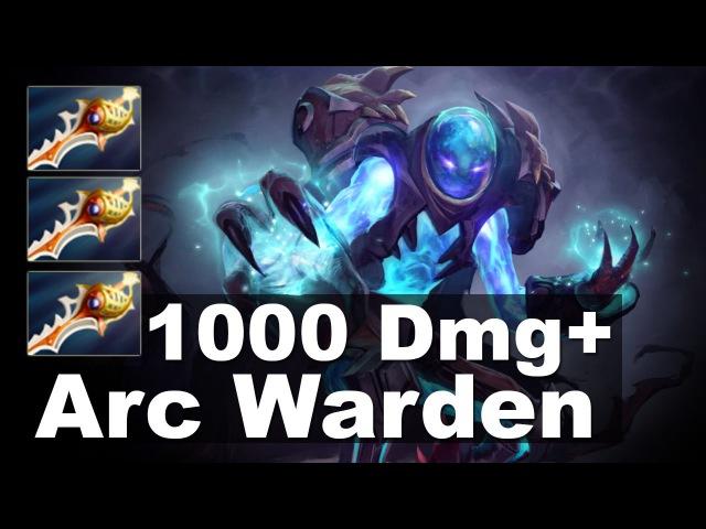 Arc Warden 1000 DMG 3x Rapier Tactic Dota 2