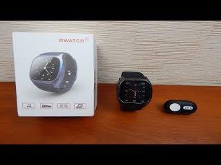 Посылки из Китая: Смарт часы Rwatch M26,Bluetooth-пульт на камеру Xiaomi YI с Gearbest.com
