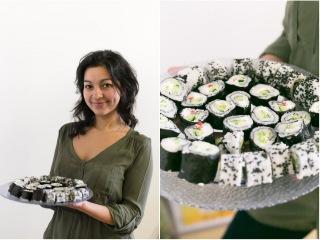 Как приготовить веганские суши (роллы). Мастер-класс Vegan Family 21