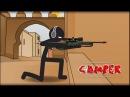 Counter Strike - DE_dust2 Stickman (Çöp Adam) HD
