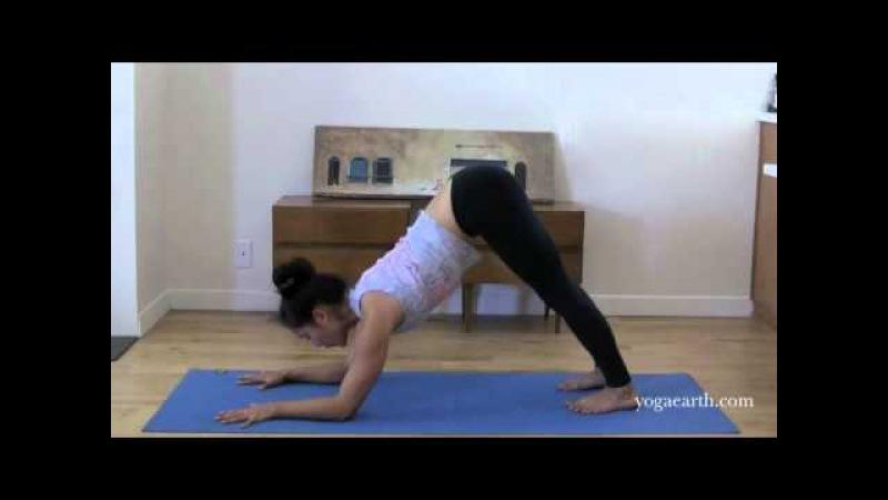 Yoga Asana Forearm Balance, Pincha Mayurasana to Scorpion Pose with Briohny Smyth - YogaEarth