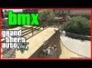 GTA 5 Epic Bmx tricks compilation (Tricks combination, Nose manual grind, Flip , Backward wheelie)