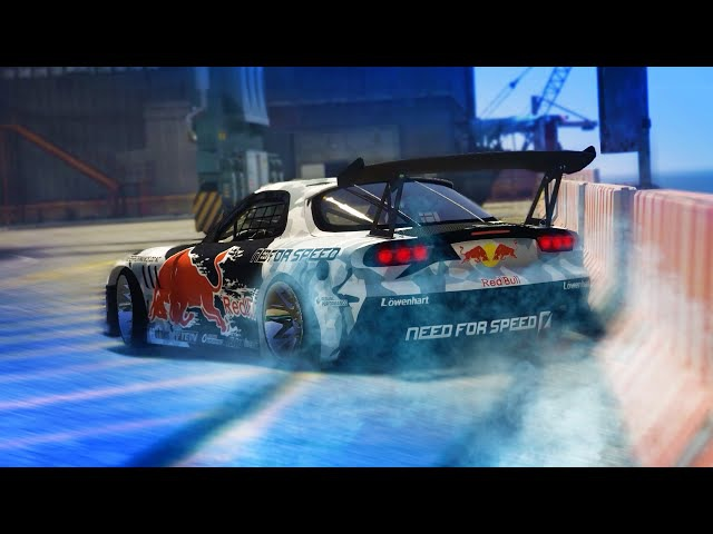 GTA 5 THE IMPORT DRIFT MONTAGE Mazda RX7