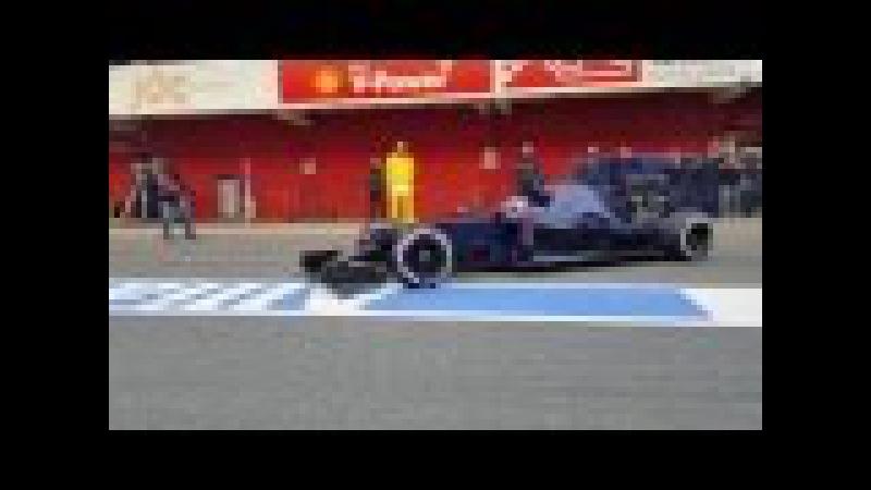 F1 2016 Barcelona Testing, day 2, Pitlane