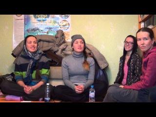 Сестры Валерия и Наталья Андреевы - Урок санкиртаны (2 день). Пермь 17.02.2016.