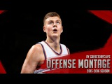 Kristaps Porzingis Offense Highlights Montage 20152016 (Part 1) - NY Sensation!