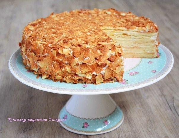 торт наполеон рецепт с картинками