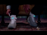 Michael J Fox fires up the Air Mag power laces