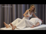 Full body energy orgasm from WOMAN to MAN with tantric massage