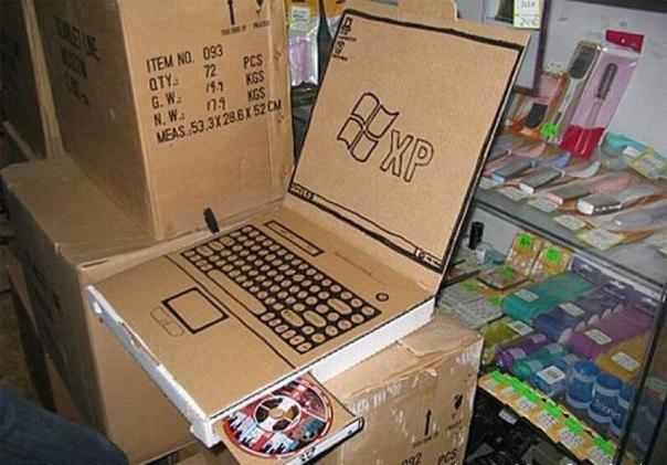 Как сделать компьютер из картона своими руками