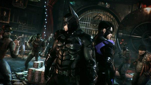 Скриншот игры Batman Arkham Knight
