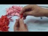 Как сделать рака из модулей оригами. Модульное оригами