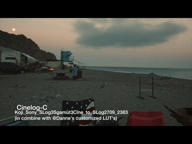 70D MLV Cinelog-C (Koji Sony SLog3Sgamut3Cine to SLog2709 2383 @Danne's customized LUT's)