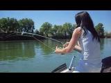 Сом и Красавица Рыбачка....flv