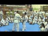 Norichika Tsukamoto teaching techniques of Kumite