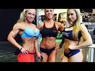 FBB  Female Muscle  Женские Мышцы  Бодибилдерши