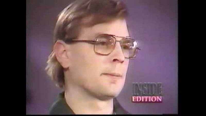 Jeffery Dahmer 1 of 2 Inside Edition interview