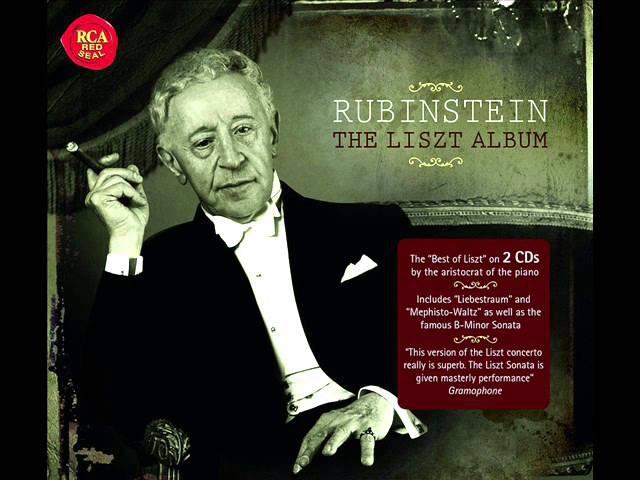 Arthur RUBINSTEIN LISZT Sonata h moll FULL