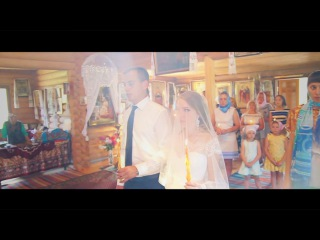 Венчание Владимира и Виктории